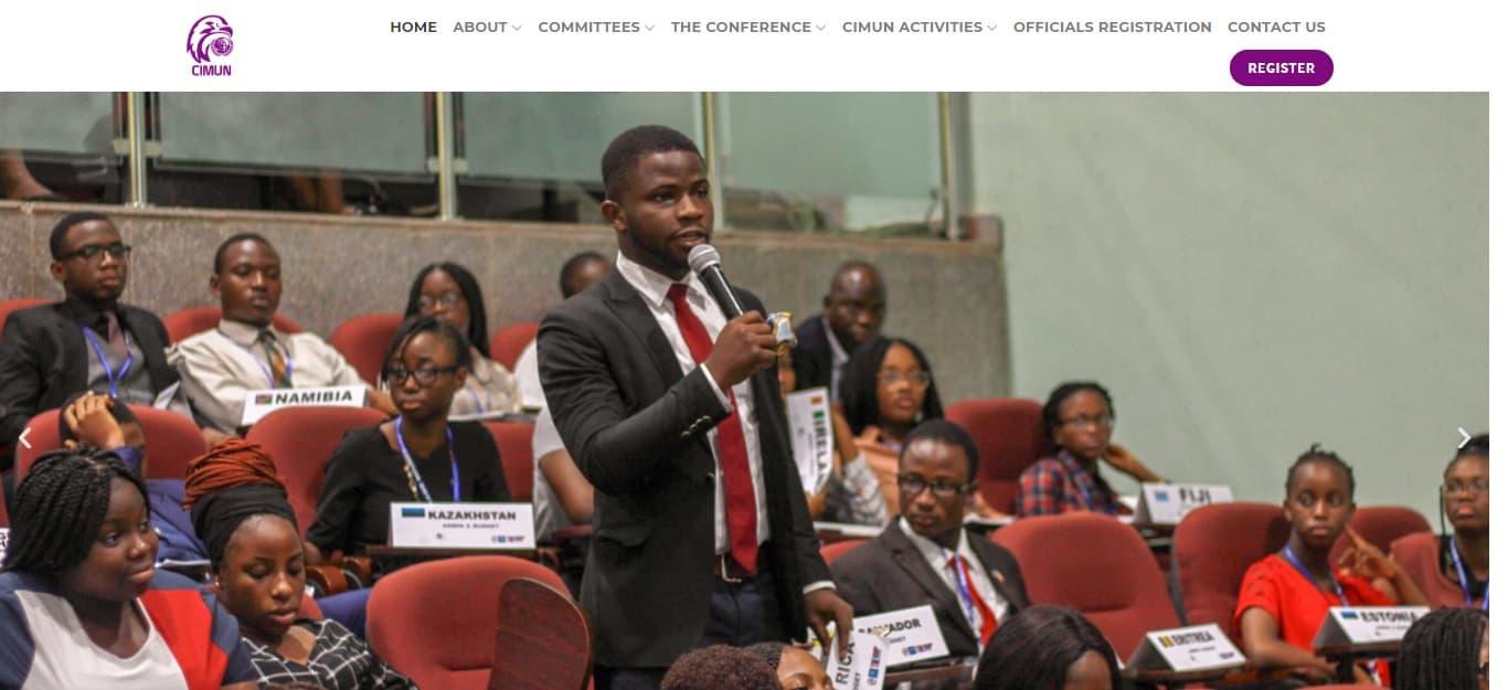 web design nigeria CIMUN