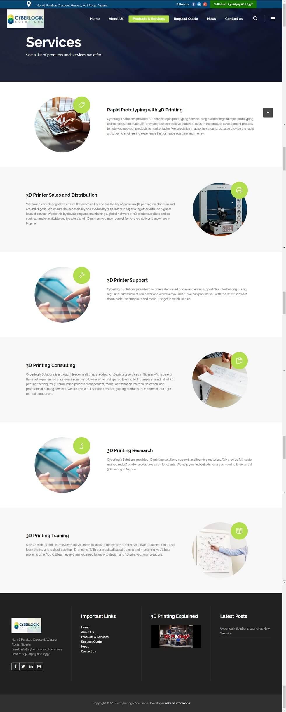 Web design Nigeria Cyberlogik Solutions