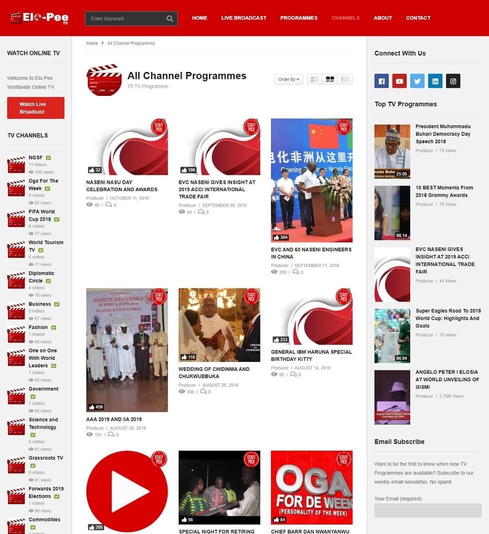 Vlog web design project 2